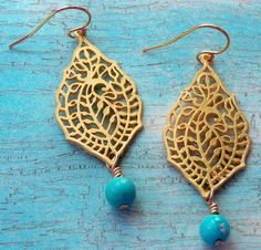 Earrings...love these!
