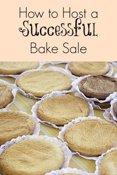 Tweet It's time for that seasonal bake sale to raise money for your favorite club or organization. A bake sale can bring in a fair amount of money, but what can you do to ensure its success? Check out these …