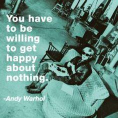 Andy Warhol Get Happy