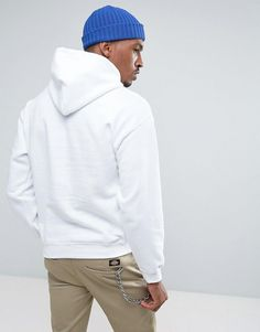 APN Embroidered Logo Hoodie - White