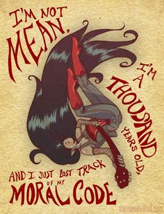 Favorite Adventure Timers + Favorite Lines - Marceline the vampire queen, by anni-art on tumblr