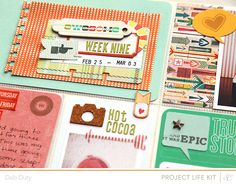layer up those tags - deb duty {photography + scrapbooking}