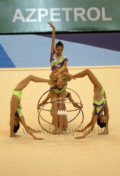 Rhythmic gymnastics groups
