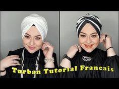 Turban Tutorial, Hijab Tutorial, Mode Turban, Turban Hijab, Ways To Tie Shoelaces, Head Turban, Hijab Caps, Hair Scarf Styles, Turban Style