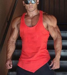 New Style Men Plain Stringer Cheap Tank Tops, Gym Tank Tops, Stringer Tank Top, Gym Body, Sleeveless Shirt, Muscle Men, Mens Fitness, Sexy Men, Tank Man