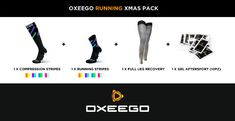 Oxeego Running Xmas Pack