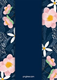 Cartoon Flowers And Blue Sky Background Flower Background Wallpaper, Flower Phone Wallpaper, Flower Backgrounds, Colorful Backgrounds, Wedding Invitation Posters, Wedding Invitation Background, Pink Wedding Invitations, Frame Floral, Flower Frame
