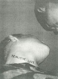 Primitive Love, Peter de Potter, 2010