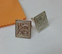 Manschettenknöpfe 800er Silber Cufflinks von Schmuckbaron auf Etsy