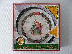 1999 Jerry Schurr - Feldstein Christmas Carol Clock - Musical - Songs at the Top of Each Hour Ebay Shopping, Christmas Carol, Musicals, Christmas Decorations, Santa, Clock, Top, Collection, Watch
