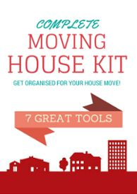 Complete moving house kit including all the checklists and guides you need to get organised