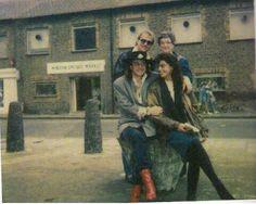 Stevie & Janna,  Martha Vaughan in back (England)