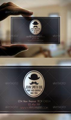 Transparent Business Card - GraphicRiver Item for Sale
