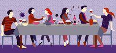 Bon appétit — des papiers peints pour les espaces repas : de bon goût, élégants, agréables