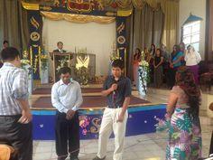 Presentación de 14 años del hermano joven Néstor Uziel Marroquín. Para la Gloria de Dios.