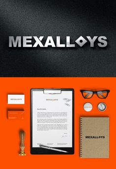 Mexalloys Branding #design #Identity #tungsten