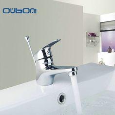 OUBONI Contemporary  Faucet And Floor Drain Bathroom Mixer Deck Mounted Sink Tap Basin Faucet Set  Mixer Tap Faucet Accessories #Affiliate