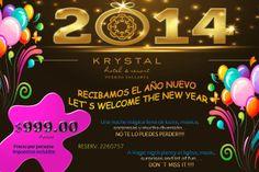Preparandonos para recibir el Año Nuevo en Hotel Krystal Puerto Vallarta!!!