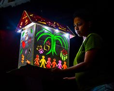 Travel 2 the Caribbean Blog: St Lucia Festival of Lights, Lantern Parade and National Day