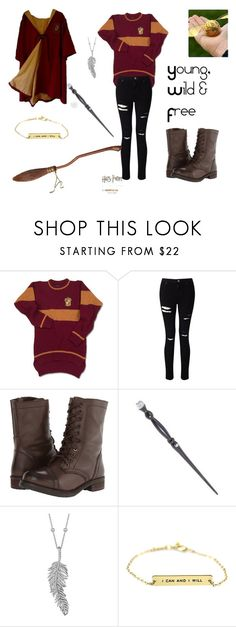 """""""Reserve Seeker ~ Isabelle Black (First Year)"""" by angel-mae-dreams ❤ liked on Polyvore featuring Miss Selfridge, Steve Madden, Swarovski and Penny Preville"""