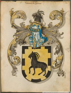 "Iberian Roll of Arms, 1440-1550. This one shows ""bordure denticulada""."