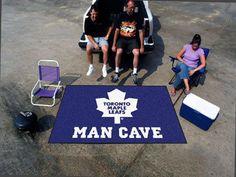 NHL - Toronto Maple Leafs Man Cave UltiMat Rug 5'x8'