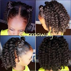 Natural Kids hairstyles                                                       …