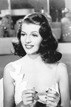 Rita Hayworth, 1941.