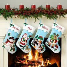 Personal Creations #Gifts  #Personalizedgifts Sequin Character Stocking | Personal Creations - Great Personalized Gifts via- http://www.AmericasMall.com/personalcreations-gifts