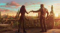 Star-Lord and Gamora Cut a Rug in New Guardians of the Galaxy Vol. 2 Clip