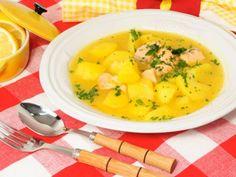Guiso de salmón con patatas decanalcocina.es