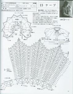 Receitas de Crochet: Bolero