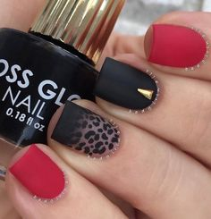 60 Stylish Leopard and Cheetah Nail Designs That You Will Love | EcstasyCoffee