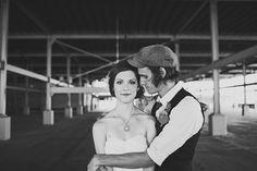 Beautiful wedding photos of this couple via ruffledblog.com