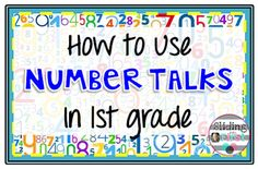 Sliding into First!: Number Talks in First Grade