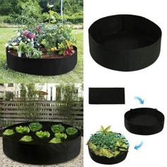 Fabric Raised Planting Bed - Just Unfold,Fill and Grow – Tactical Store Plants For Raised Beds, Raised Planter Beds, Raised Garden Beds, Growing Vegetables, Growing Plants, No Till Garden, Small Flower Gardens, Grow Bags, Big Plants