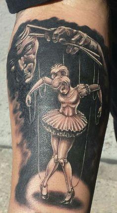 Hell is Dark Tattoo - http://99tattooideas.com/hell-dark-tattoo/ #tattoo