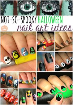 Fabulous ideas for Halloween Nail art! Have the prettiest nails this season!