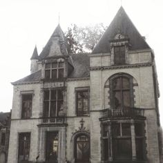 Victorian gothic home Arte Punk, Looks Dark, The Rocky Horror Picture Show, Dark Paradise, Forest Fairy, Aesthetic Pictures, Cool Pictures, Mansions, House Styles