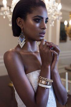 """b-sama: """" Glamorous White Glow (Angola), December 2014 Model: Alécia Morais Photographer : Jose Ferreira """""""