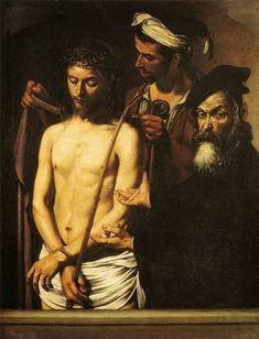 Italian Painters, Italian Artist, Catholic Art, Religious Art, Michelangelo Caravaggio, La Pieta, Pictures At An Exhibition, Baroque Painting, Homo