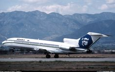 Alaska Airlines Boeing 727- ...