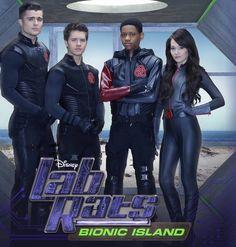 Lab Rats Bionic Island Cover.