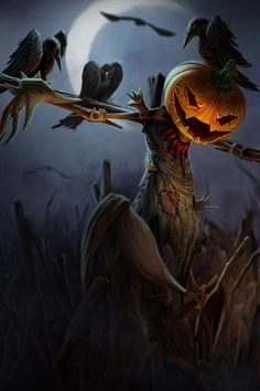 ImagineFX - MyFX Challenge #88 - Scarecrow - Final Entries ...