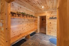 Knotty pine paneling is cool thin tongue and groove pine is cool interior pine boards is cool knotty cedar tongue and groove Knotty Pine Rooms, Knotty Pine Decor, Knotty Pine Paneling, Cedar Paneling, Cedar Walls, Paneling Ideas, Cedar Tongue And Groove, Tongue And Groove Ceiling, Foyers