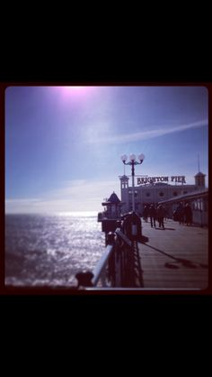 Brighton Pier, photo by Vicky Rogers
