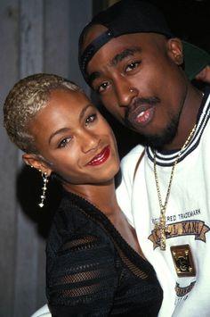 Jada Pinkett & Tupac Shakur