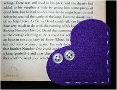 Vánoční dárky - záložka do knížky a sněhuláčci