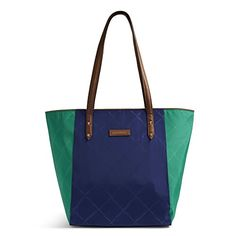 Vera Bradley Preppy Poly Ella Tote Evening SkyClover ** Continue to the product at the image link.Note:It is affiliate link to Amazon.