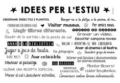 Foto a IDEES PER L'ESTIU - Google Fotos English Activities, Digital Marketing, How To Become, Teacher, Social Media, Motivation, Education, 3 Years, Routine